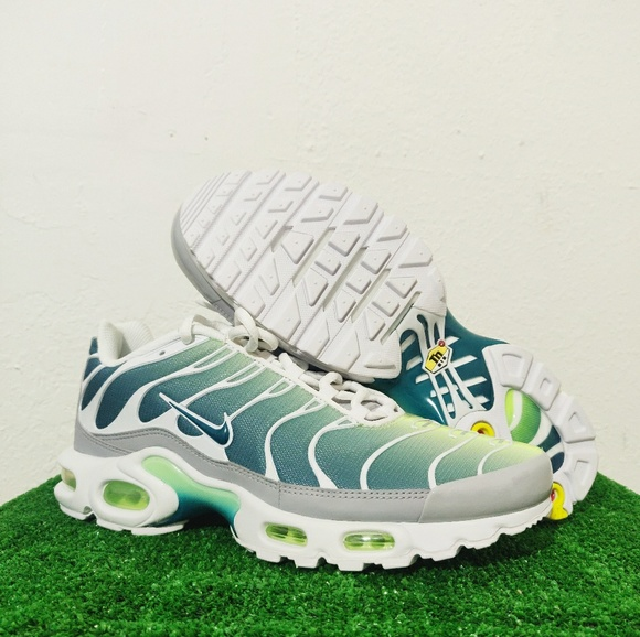 Nike Other - Nike Air Max Plus TN Green Teal Blue White